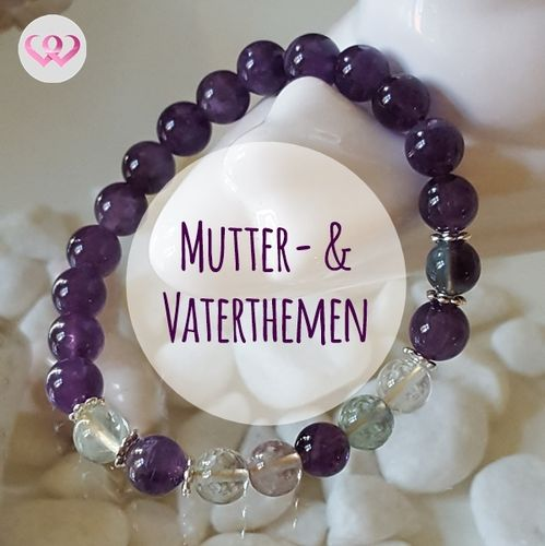 "Dualseelen-Armband ""Mutter- & Vaterthemen"""